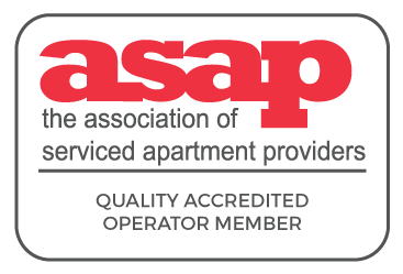 ASAP the Association of serviced apartment provider Quality Accredited Member